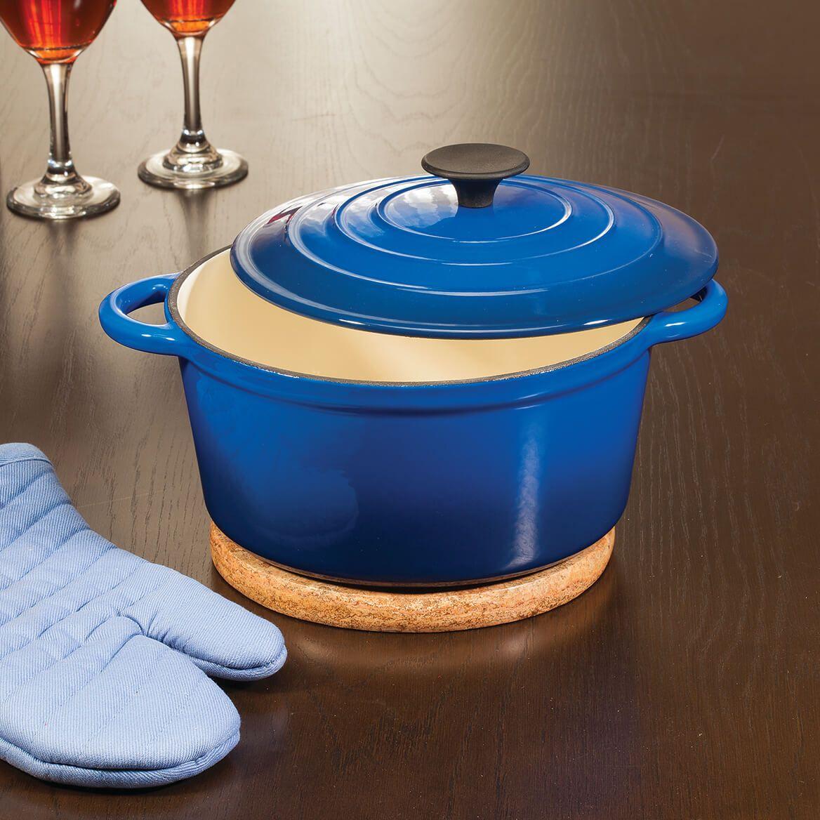 Home Marketplace Enamel Cast Iron Dutch Oven, 4 Qt.-362484
