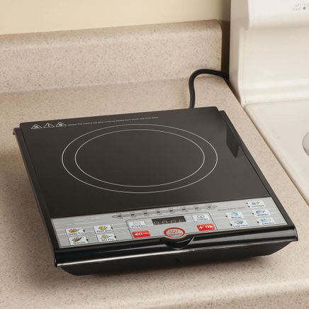 Home Marketplace Induction 1500W Temperature Control Cooktop-362486