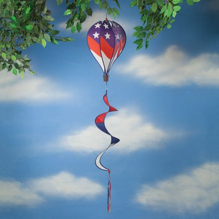 Patriotic Air Balloon Wind Spinner-362533