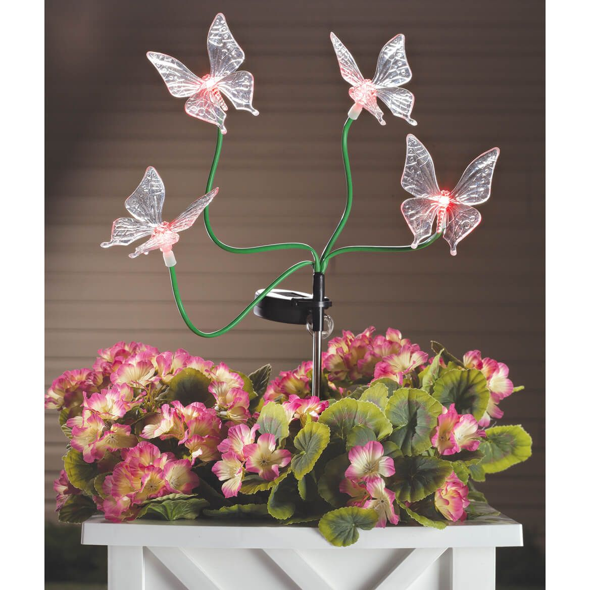 Color-Changing Solar Butterfly Stake-362537