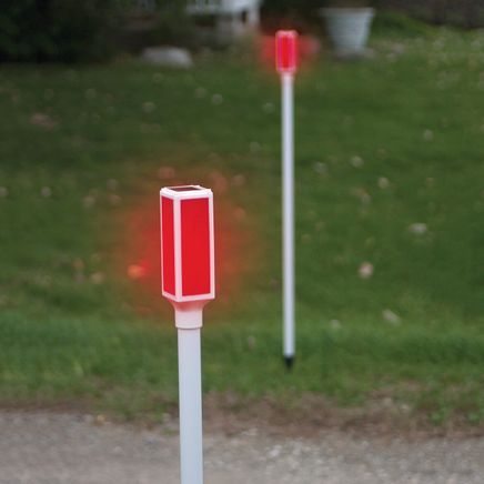 Solar Driveway Markers, Set of 2-362550