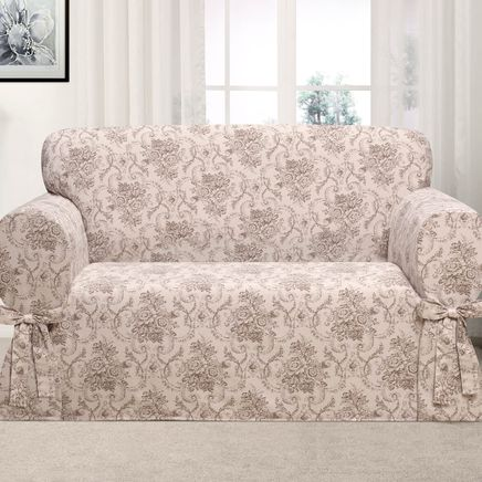 Kathy Ireland Chateau Loveseat Slipcover-362616