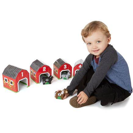 Melissa & Doug® Nesting & Sorting Barns & Animals-362832