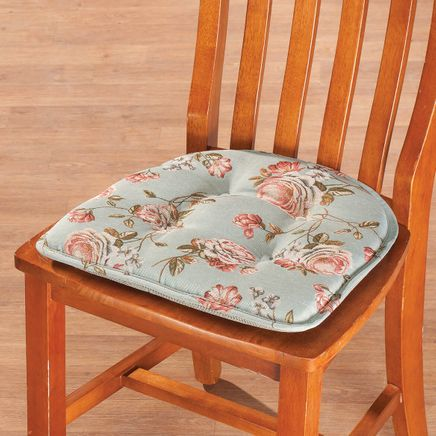 Kimberly Rose Tapestry Chair Pad with Gripper-362924