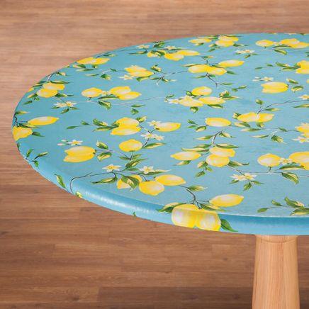 Lemon Tree Elastic  Vinyl Table Cover-363043