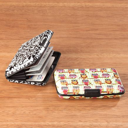 Designer Print RFID Credit Card Case Set/2-363159