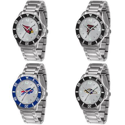 Men's NFL Sparo Key Silver Watch-363203