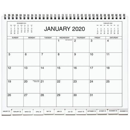 3 Year Calendar Diary 2020-2022 Blue-363227