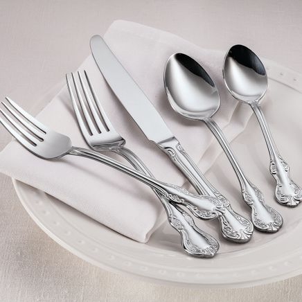 William Roberts French Floral 45-Pc. Flatware Set-363247