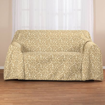 Damask II Loveseat Throw-363515