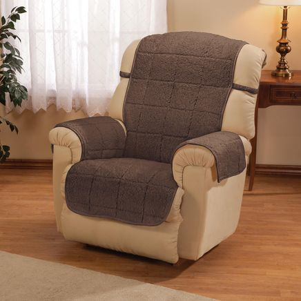 Parker Water-Resistant Sherpa Recliner Protector by OakRidge™-363769