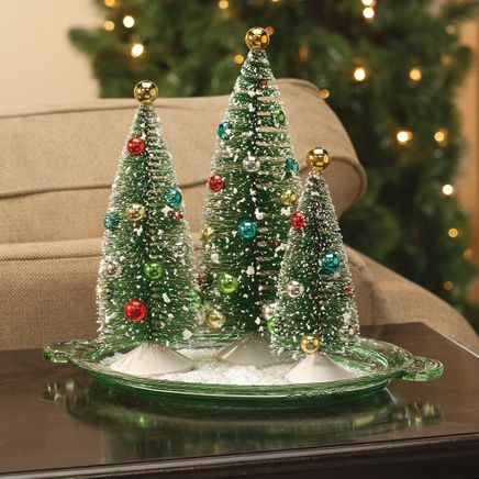 Nostalgic Christmas Trees Set of 3 Holiday Peak™-363789