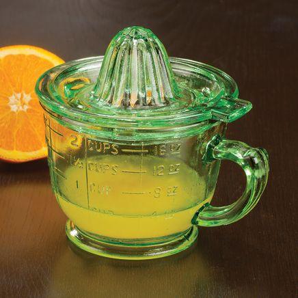 Nostalgia Glass 16 oz. Citrus Juicer by Home Marketplace-363814