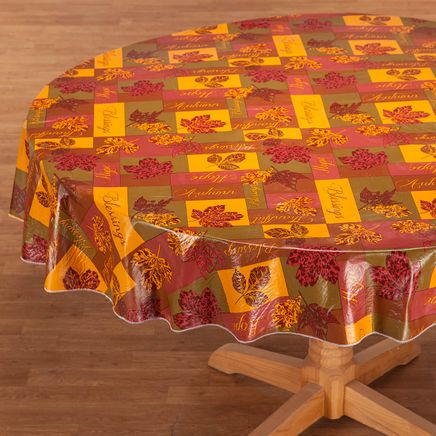Falling Leaves Blessings Table Cover-363829