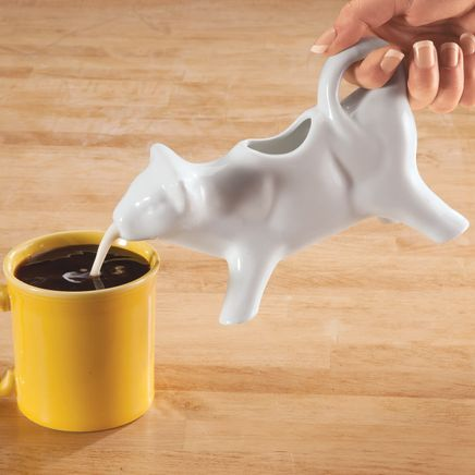 Cow Shape Ceramic Creamer-363891