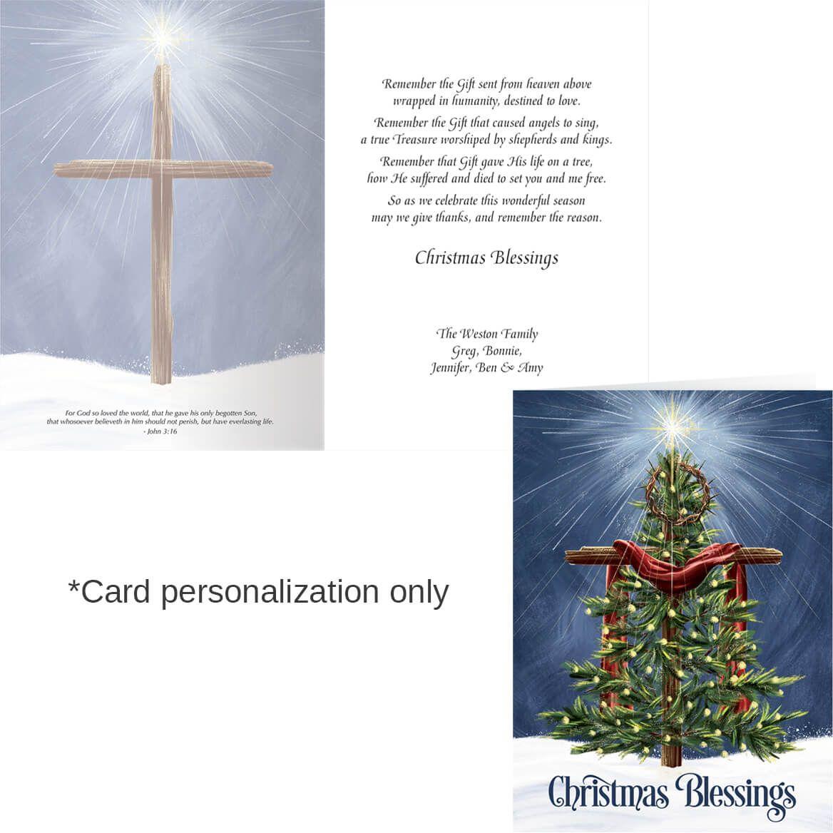 Heaven's Gift Christmas Card Set of 20-364049