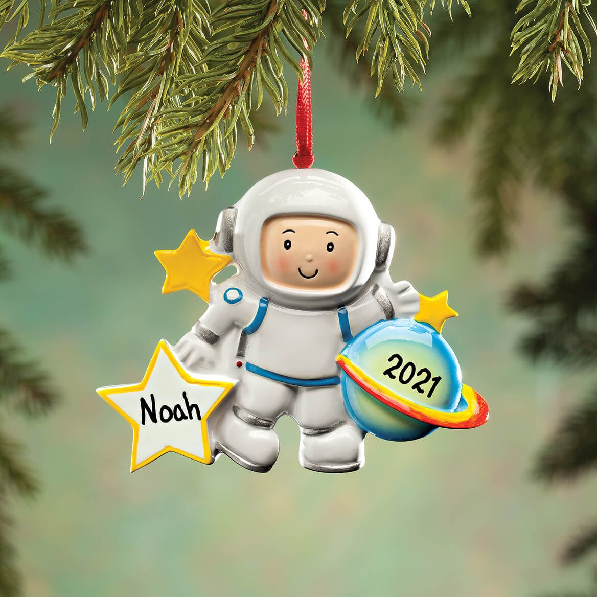 Personalized Astronaut Ornament-364217