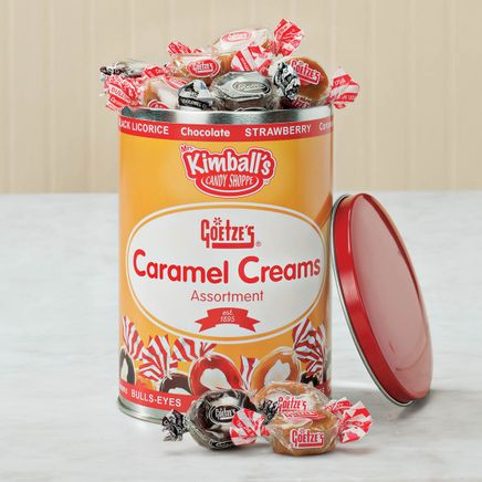 Goetze's Caramel Creams® Tin by Mrs. Kimball's Candy Shoppe™-364290