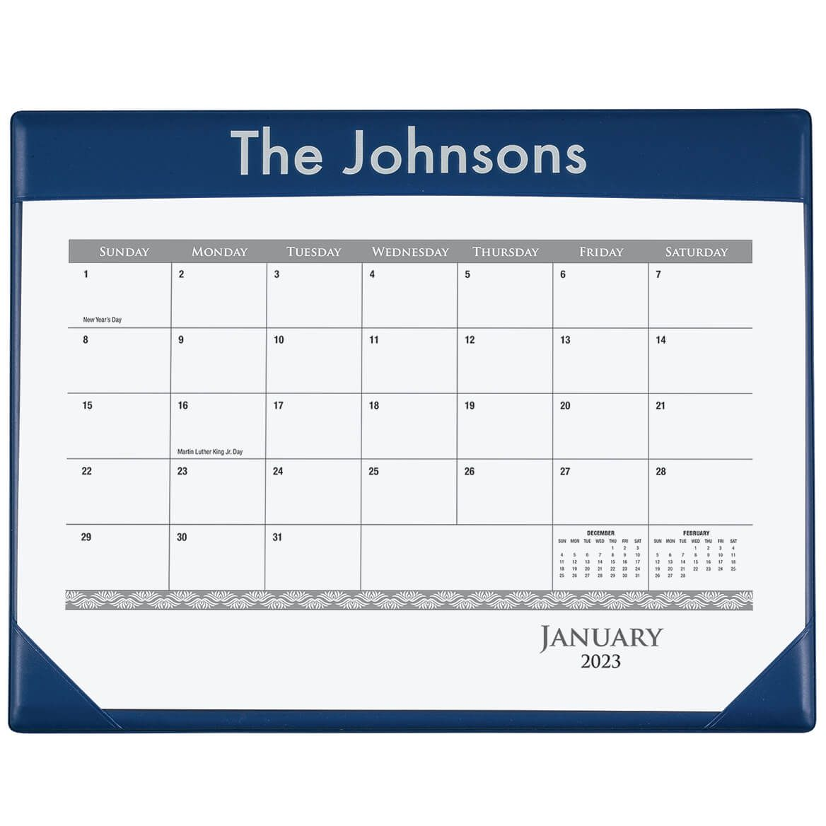 Personalized Desk Pad and Calendar-364403
