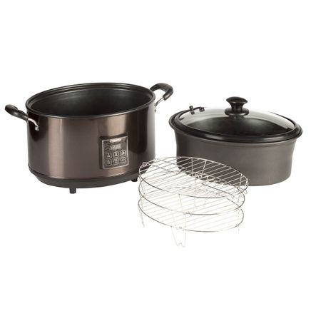 Presto® Indoor Smoker/Slow Cooker-364423