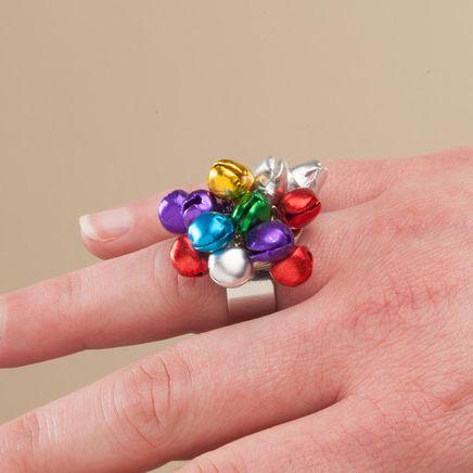 Jingle Bell Adjustable Ring-364531