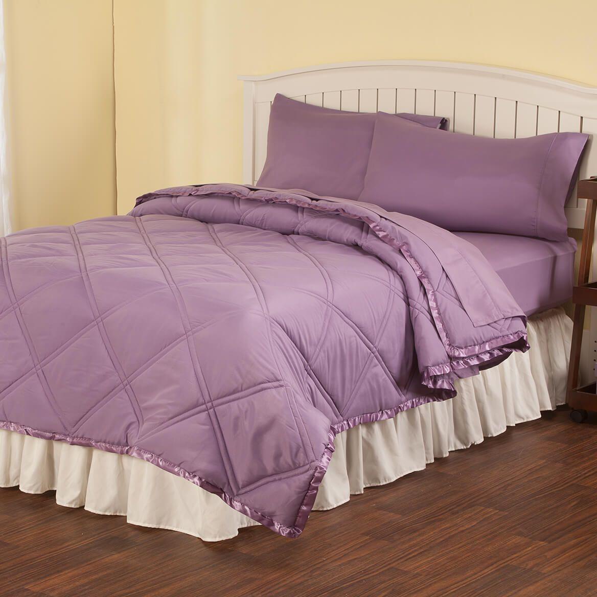 Microfiber Comforter and Sheet Set-364581