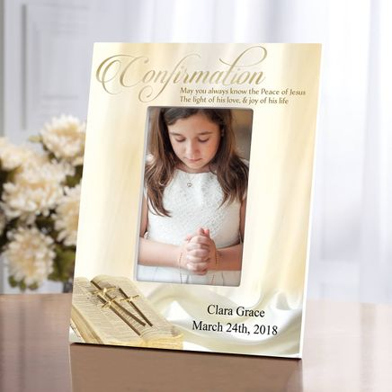 Personalized Confirmation Photo Frame-364635