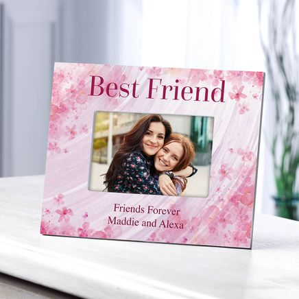 Personalized Best Friend Flowers 'a Flutter Photo Frame-364638