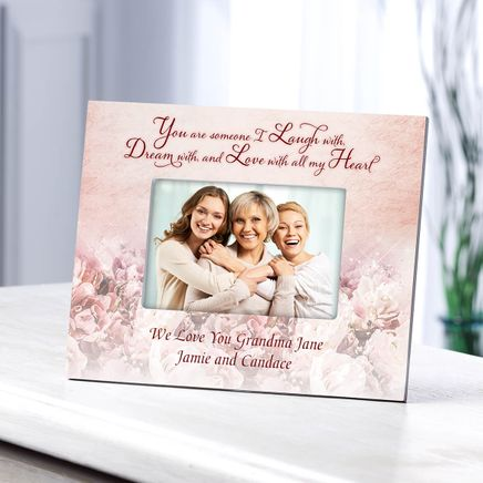 Personalized Laugh, Dream & Love Photo Frame-364641