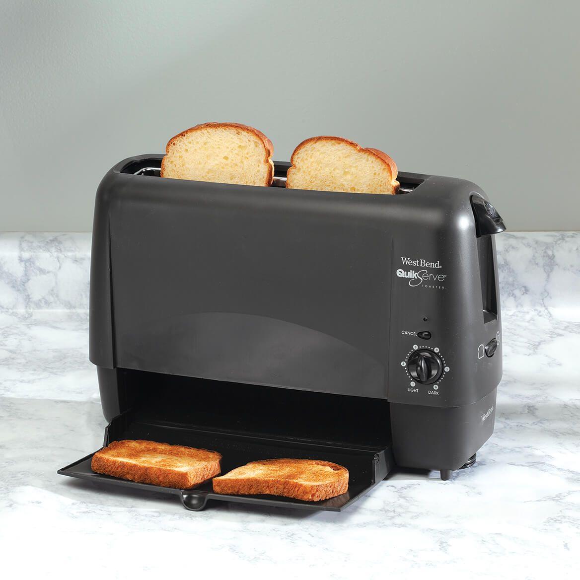 West Bend Quik Serve Toaster-364659