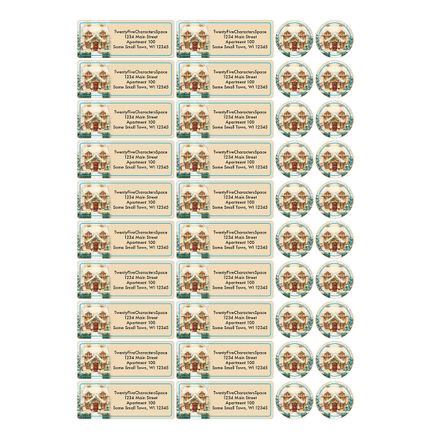 Personalized Cozy Cottage Address Labels & Seals 20-364725