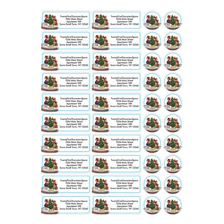 Personalized Recipe Gift Address Labels & Seals 20-364744