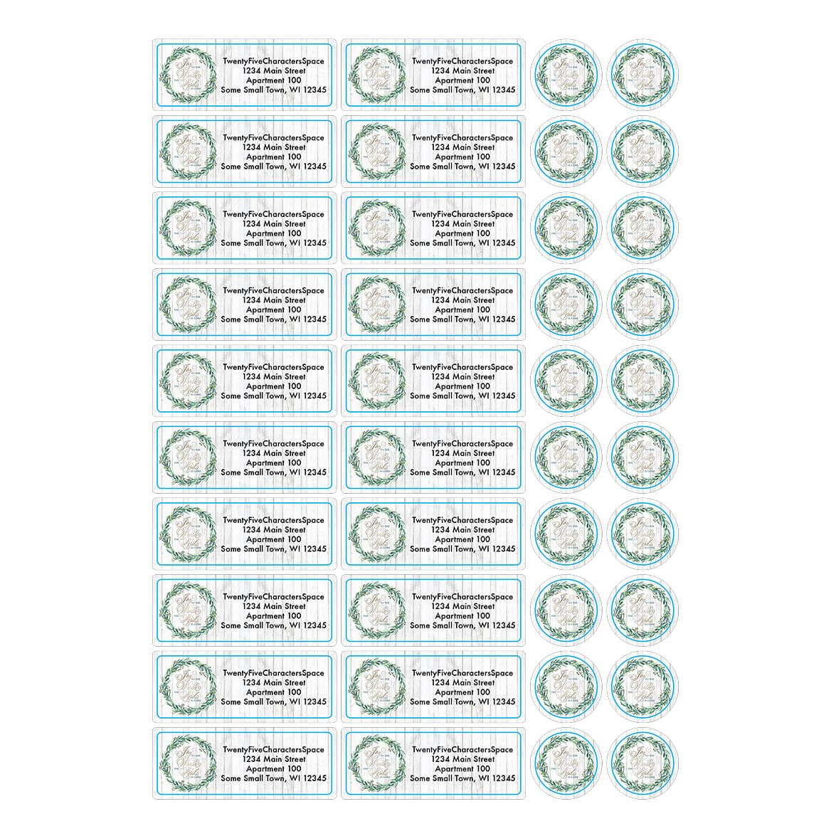 Personalized Joy to the World Address Labels & Seals 20-364755