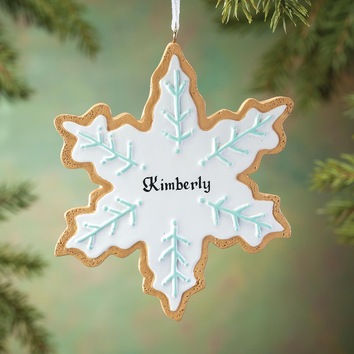 Personalized Snowflake Cookie Ornament-364877