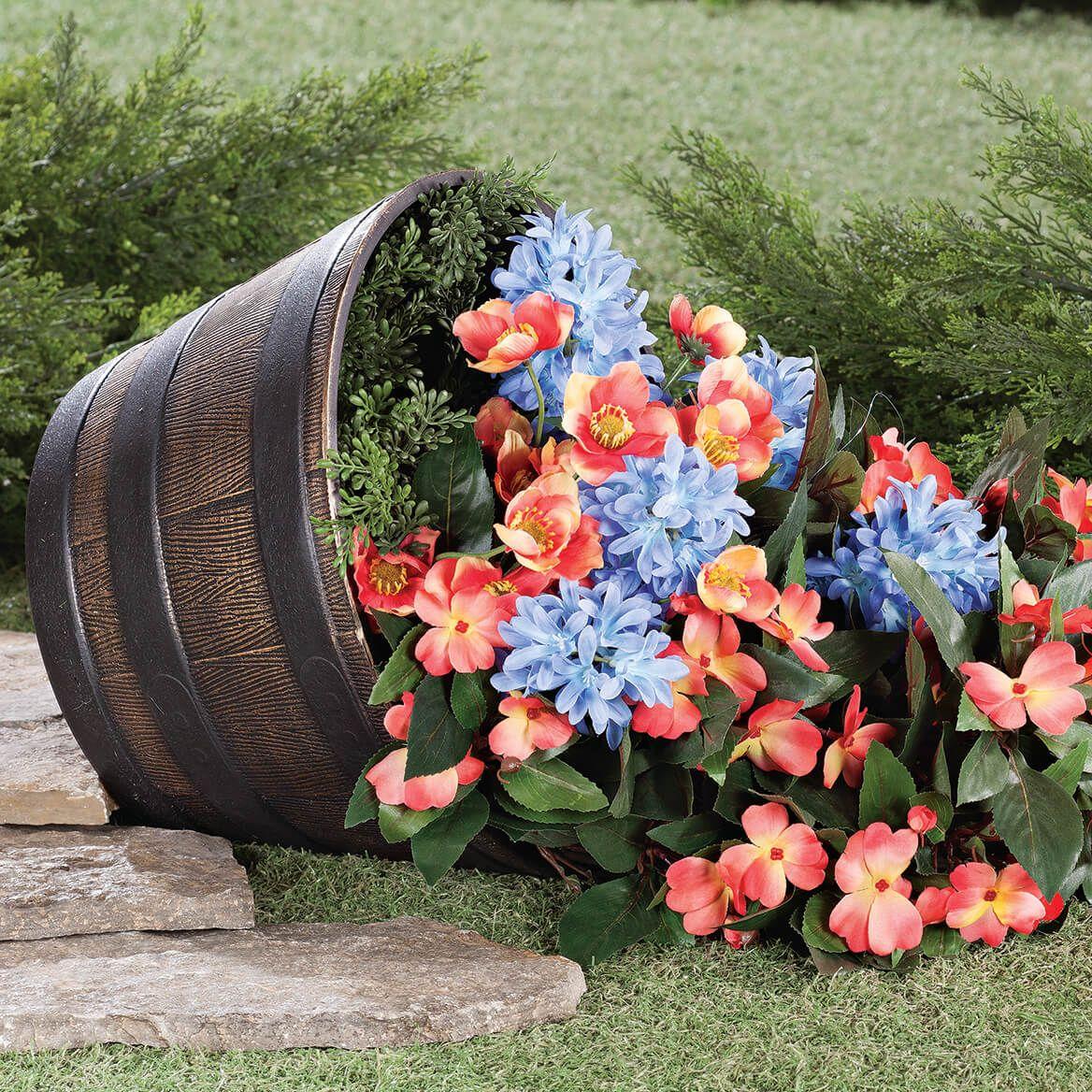 Barrel Planters Set of 4-365032