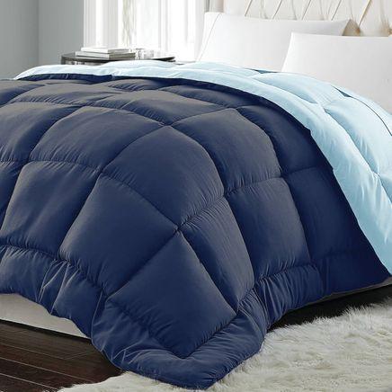 Microfiber Reversible Down Alternative Comforter-365415