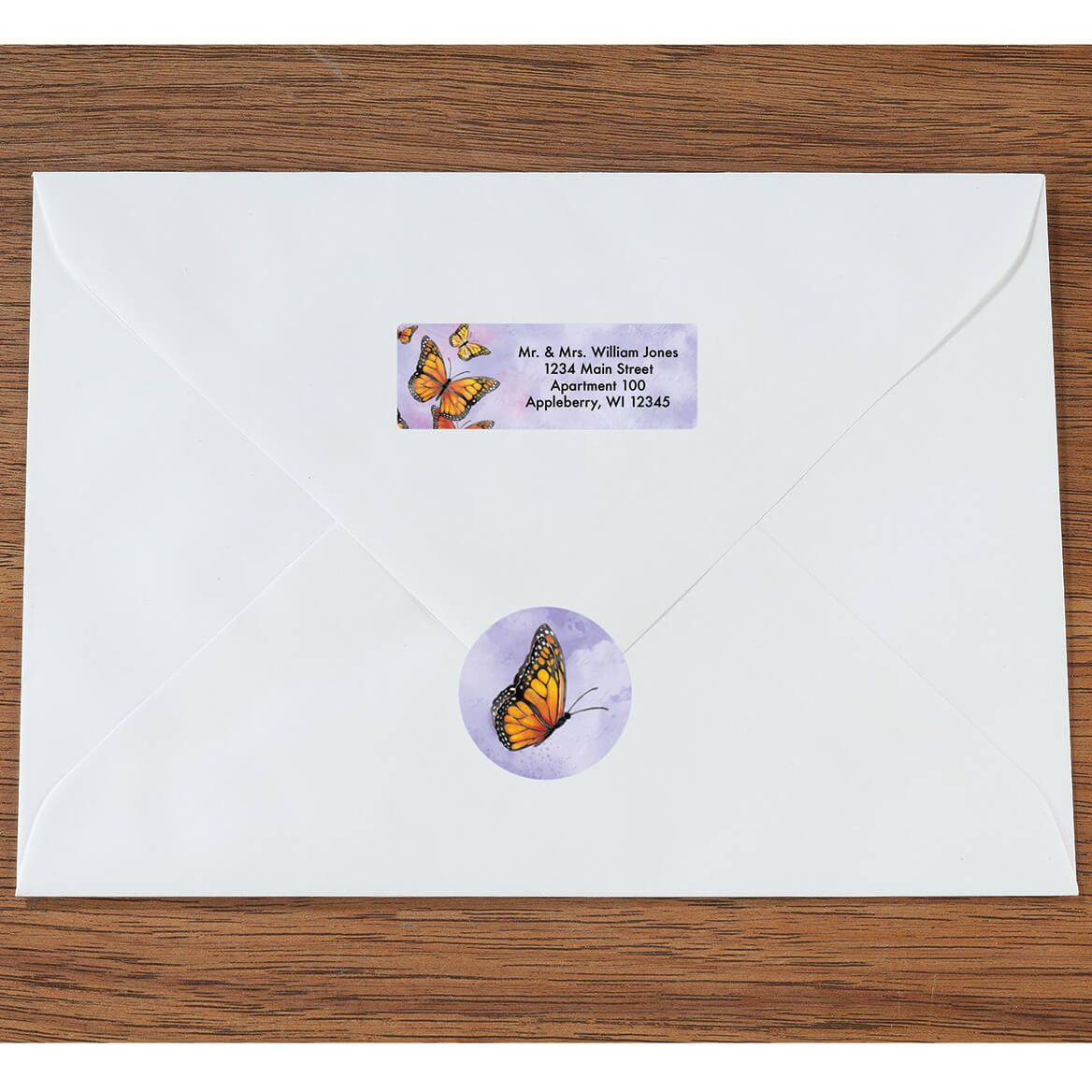 Personalized Butterflies Labels & Envelope Seals 60-365590