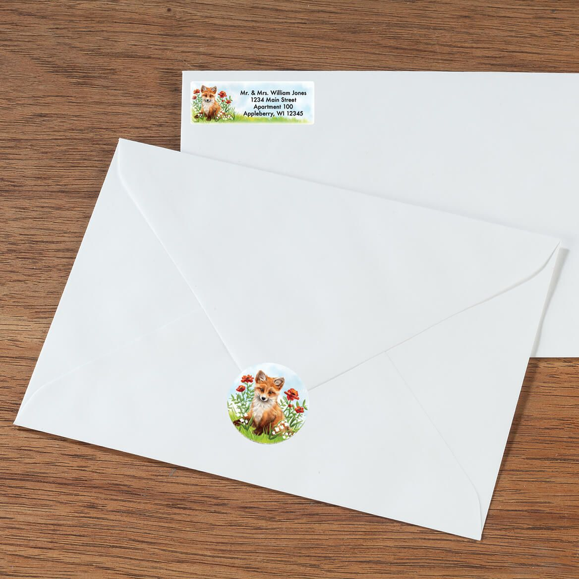 Personalized Baby Animals Labels & Envelope Seals 60-365592
