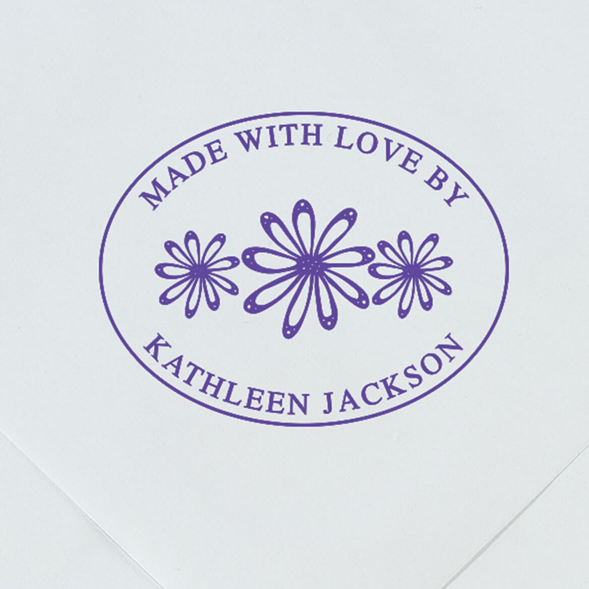 """Personalized """"Made With Love"""" Stamper-365607"""