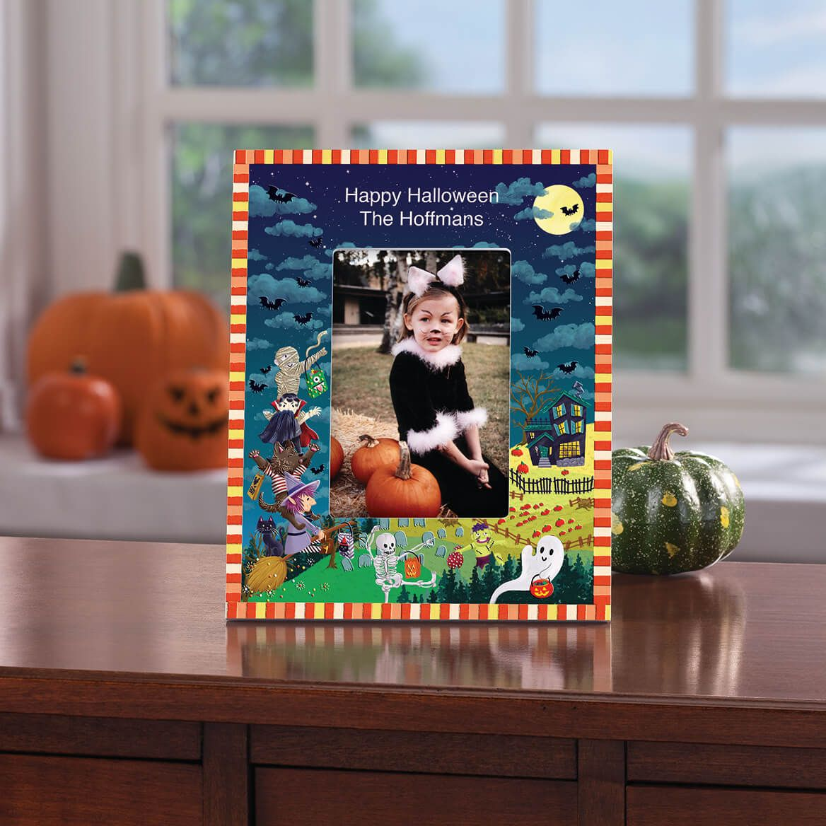 Personalized Haunted Party Halloween Frame-365634