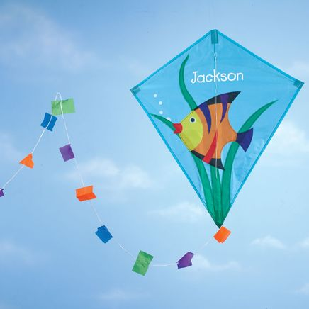 Personalized Children's Fish Kite-365661