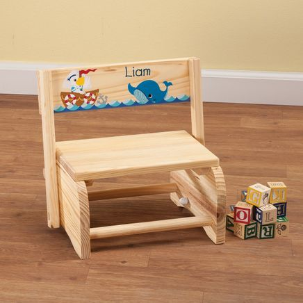 Personalized Children's Ocean Friends Step Stool-365663