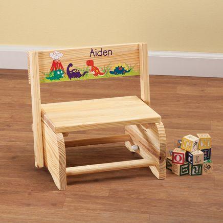 Personalized Children's Dinosaur Step Stool-365672