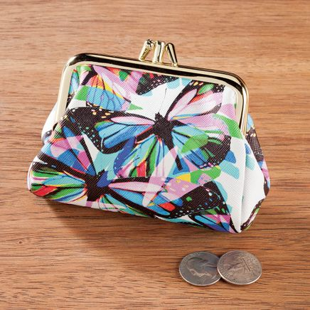 Buxton Butterfly Snap Coin Purse-365835