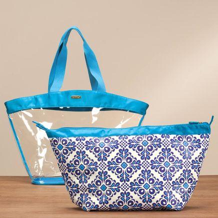 Jack & Missy™ 2-in-1 Blue Tote Bag-365846
