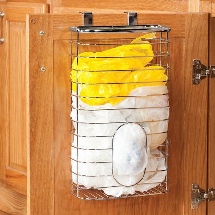 Chrome Bag Holder Basket by Home-Style Kitchens-365938