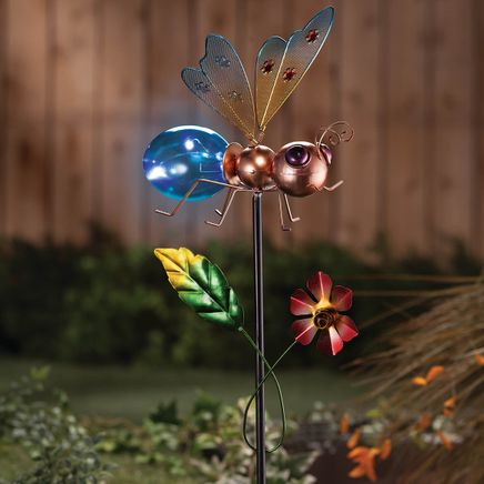 Solar Bug Stake by Fox River Creations™-366363