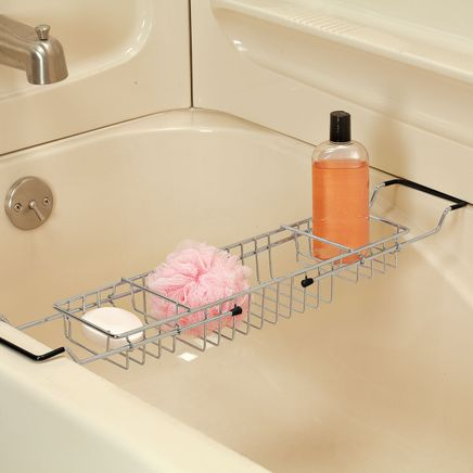 Expandable Bathtub Caddy-366378