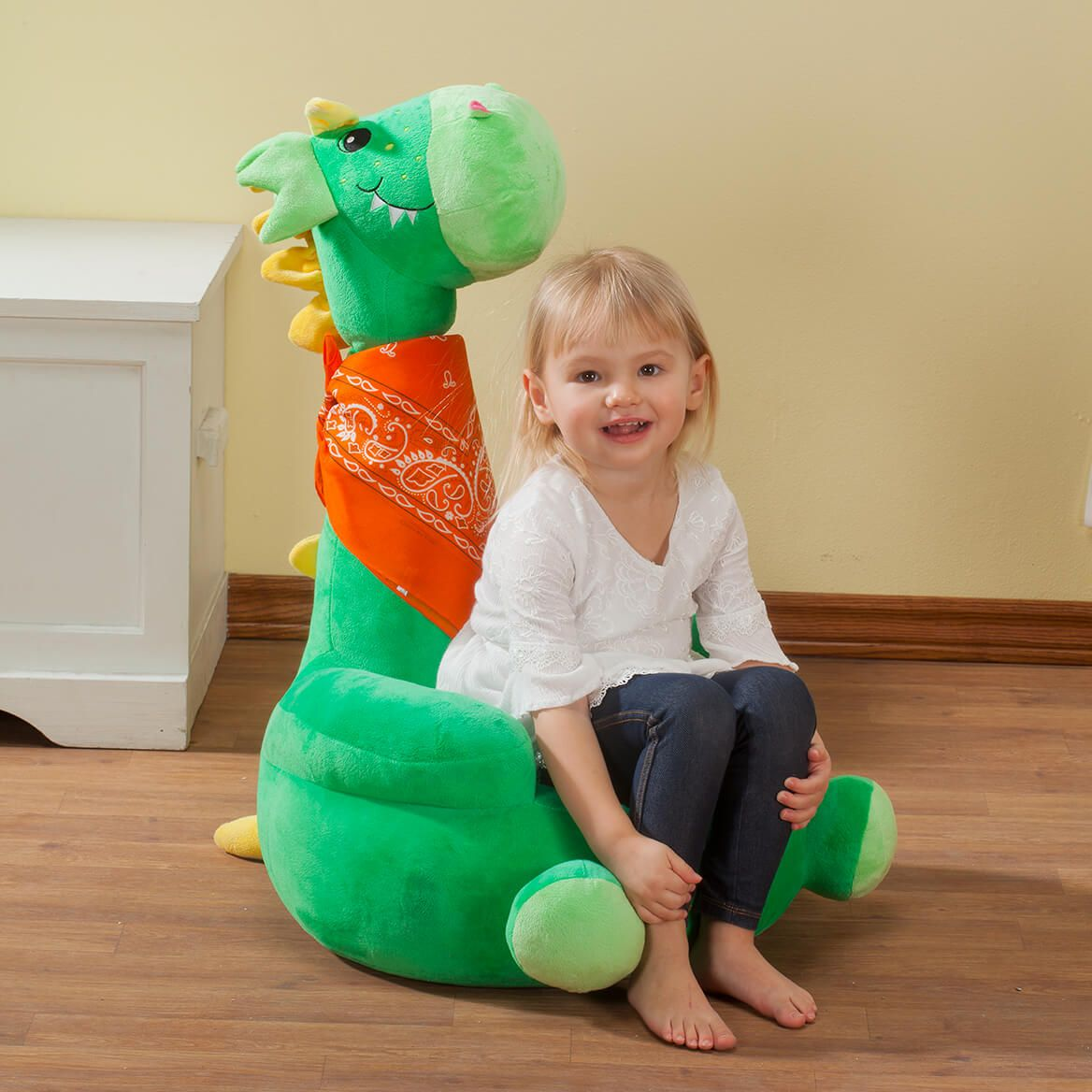 Children's 2-in-1 Dragon Chair with Bandana-366400