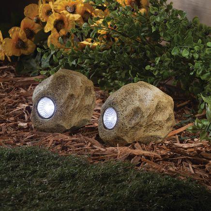 Rock Solar Lights Set of 2-366618